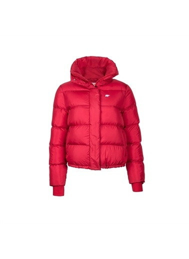 Bad Bear Kadın Mont Winter Bloom 200413002-Red Kırmızı